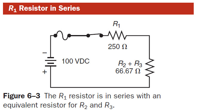 Voltage Applied To A Series Circuit Is Equal To The Sum Of The