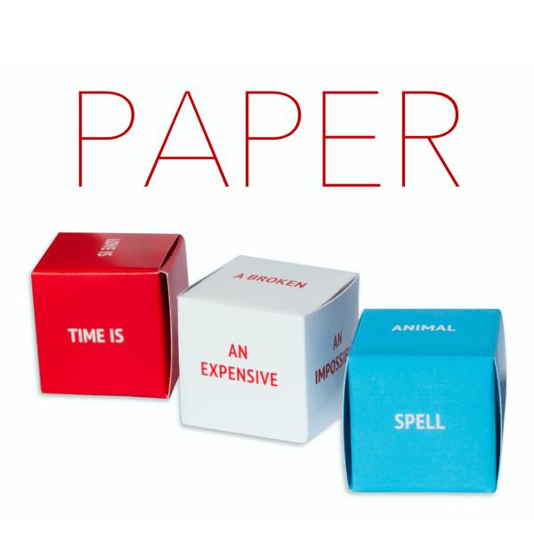 paper dice