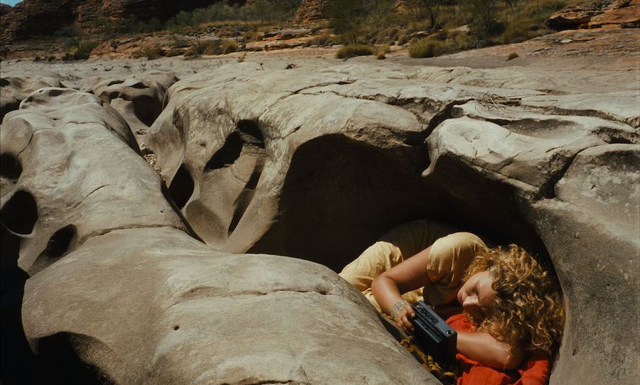 """Still from Wim Wenders' """"Till the End of the World"""""""