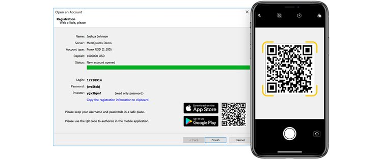 New MetaTrader 5 iOS build 2030 with improved chats, QR