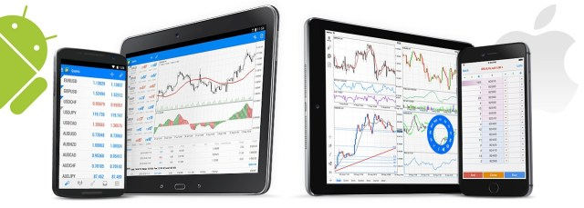 MetaTrader 5 trading mobile