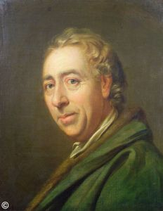 DEW47150 Portrait of Lancelot 'Capability' Brown, c.1770-75; by Cosway, Richard (1742-1821); oil on canvas; 53x42.5 cm; Private Collection; English, out of copyright