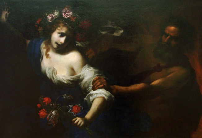The Abduction of Persephone by Simone Pignoni