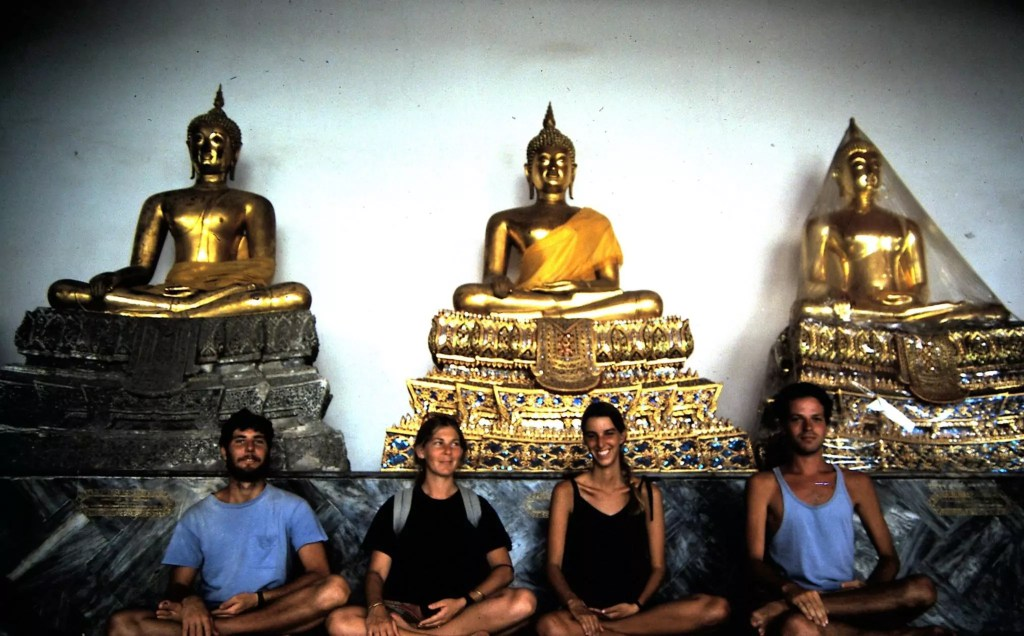 together with our best friends in Bangkok 1985