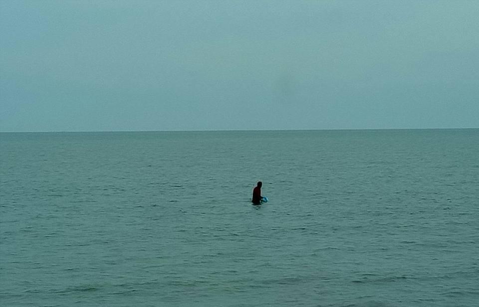 SHRIMPS FISHING AT THE GOLF OF BANGKOK