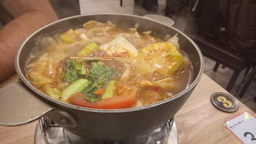 vegan hot pot