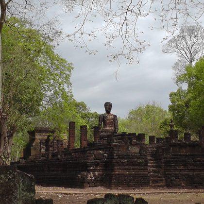 העורבים ואנחנו בעתיקות קפנג פאט תאילנד