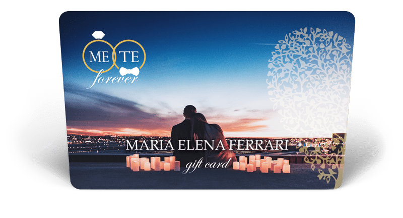 Card MeTe Forever - Gift Card