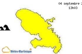vigilance jaune au cyclone Irma