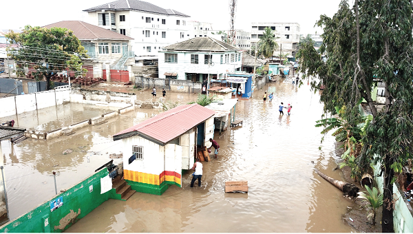 Meteo Agency warns of heavy rains after weekend rains leave Accra under water