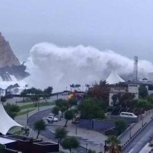 immagine news meteo-pazzo-a-lisbona-e-allarme-rosso-per-uragano-allerta-sino-a-madrid