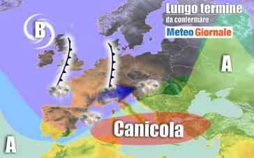 METEO Italia al 15 agosto: ancora CALDO esagerato, non al Nord