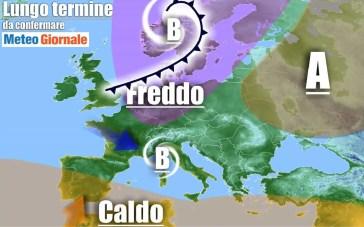METEO Italia al 2 Ottobre, severo freddo PEGGIORAMENTO