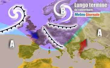 METEO Italia al 3 Novembre, a tratti CALDO e NUBIFRAGI