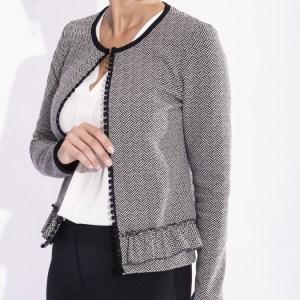 giacca maglia donna