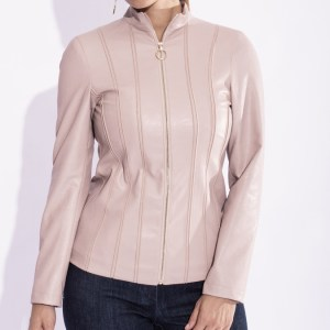 giacca pelle donna