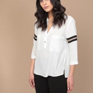 camicia bianca primaverile