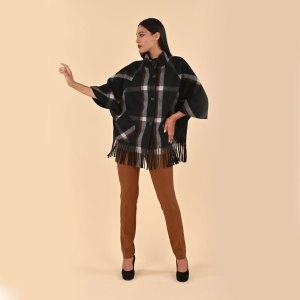 Mantella con le frange collezione autunno 2019