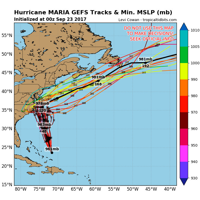 Maria Could Come Close To Outer Banks of North Carolina