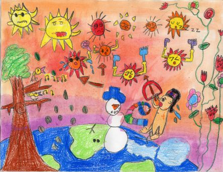 Hong Kong Meteorological Society: Painting Competition 2008 (Primary 1-3)