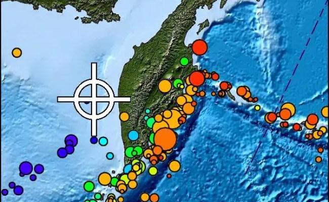 Violentissima Scossa Di Terremoto Tra Russia E Giappone
