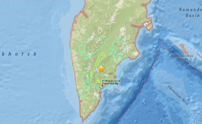 Violenta Scossa Terremoto Magnitudo 7 2 In Russia Meteo Web