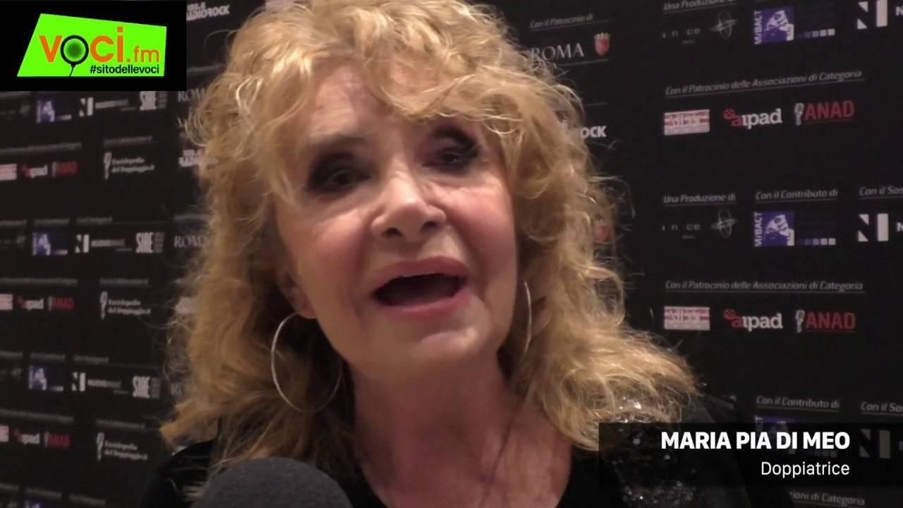 Maria Pia Di Meo chi è | carriera | vita privata dell'attrice e doppiatrice