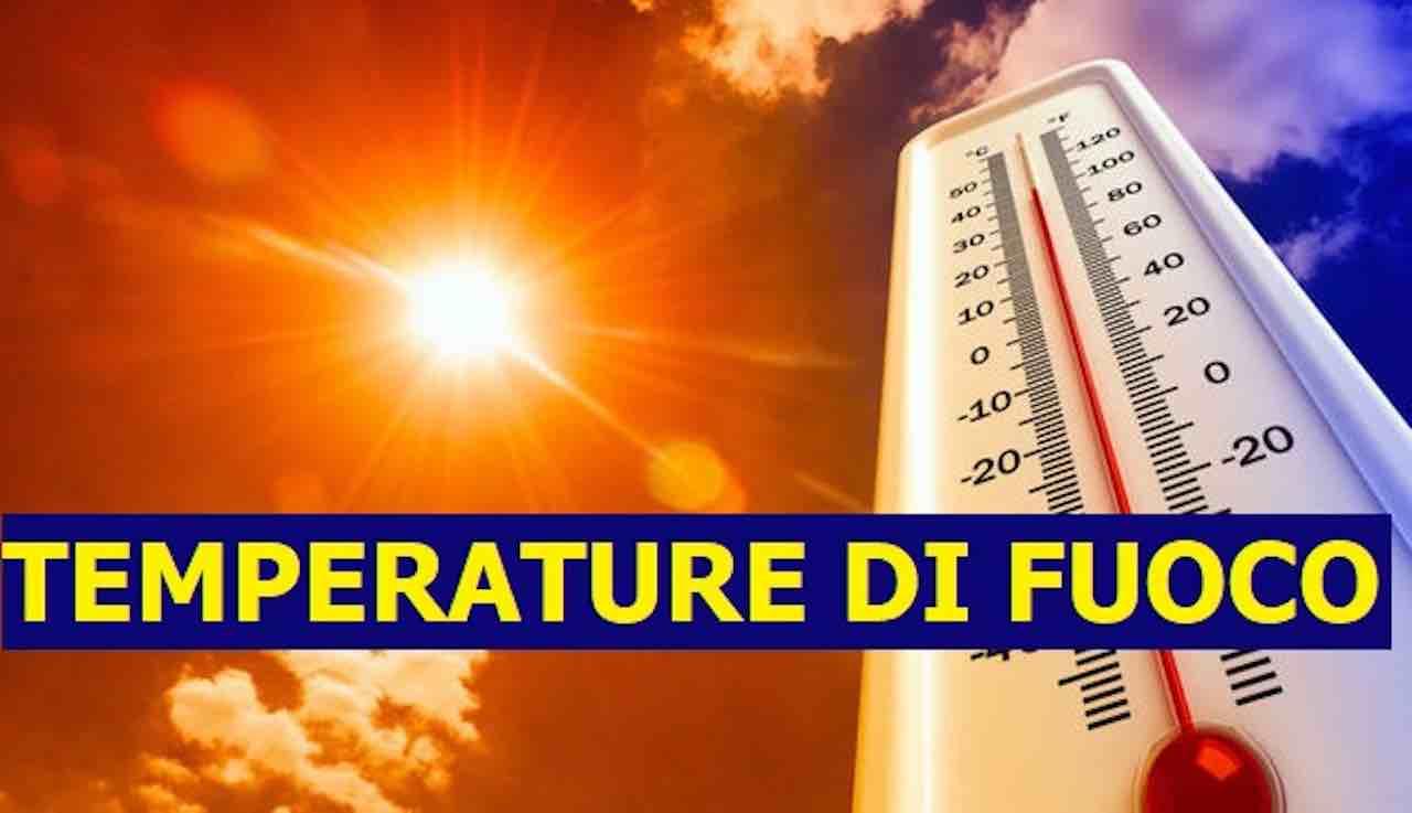 Meteo, estate di fuoco con temperature fino ai 40 gradi