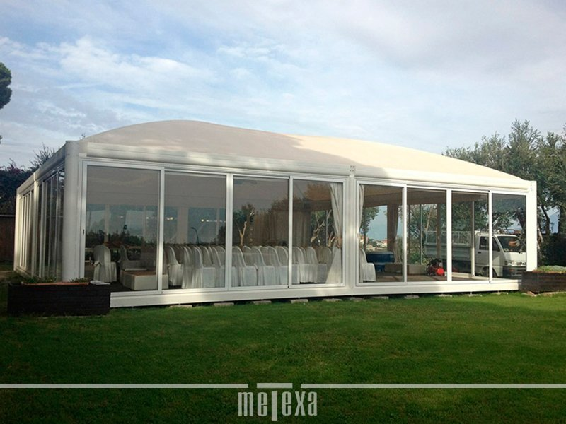 Gazebo in Ferro Autoportanti di Design  Metexa