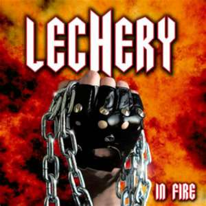 Lechery - In Fire cover