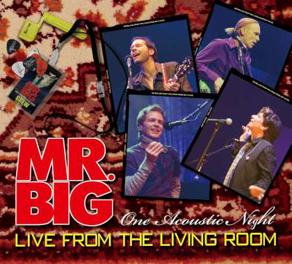 Mr. Big - Live From the Living Room cover