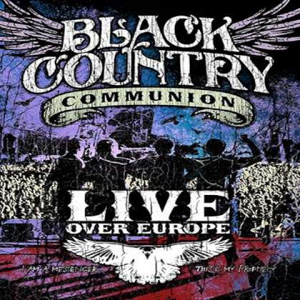 Black Country Communion - Live Over Europe cover