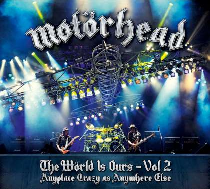 Motörhead - The Wörld Is Ours Vol. 2 cover