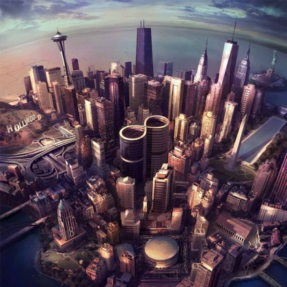 Foo Fighters - Sonic Highways cover