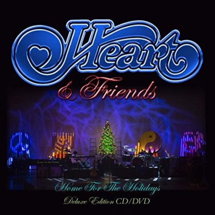 Heart & Friends - Home For The Holidays cover