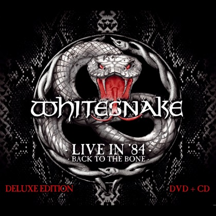 Whitesnake - Live In '94 - Back To The Bone cover