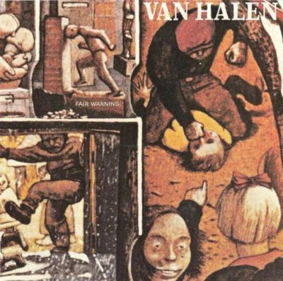 Van Halen - Fair Warning cover