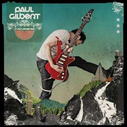 Paul Gilbert Fuzz Universe cover