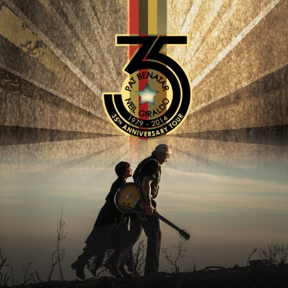 Pat Benatar & Neil Giraldo - 35th Anniversary Tour cover