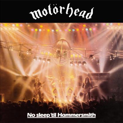 Motörhead - No Sleep 'til Hammersmith cover