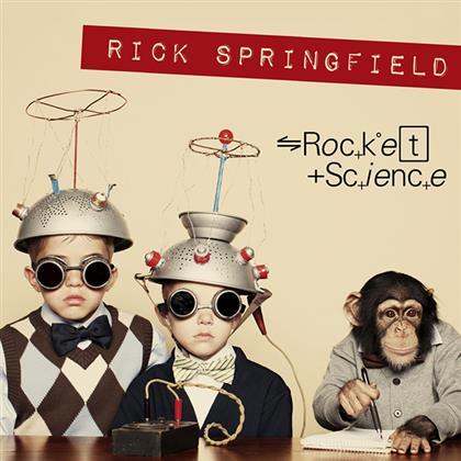 Rick Springfield - Rocket Science cover