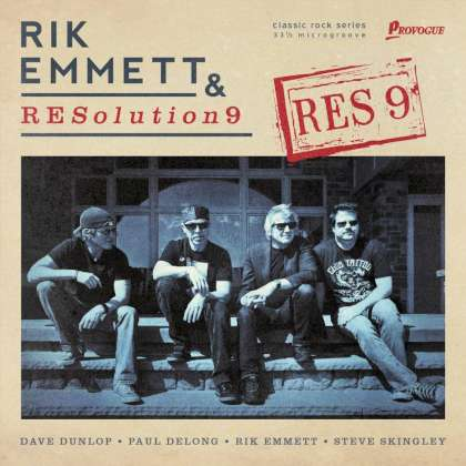 Rik Emmett & RESolution9 - RES9 cover