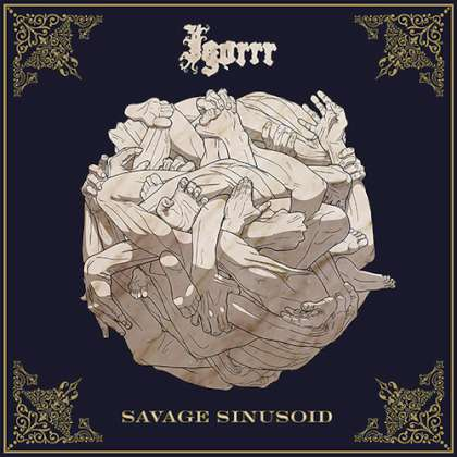 Igorrr - Savage Sinusoid cover