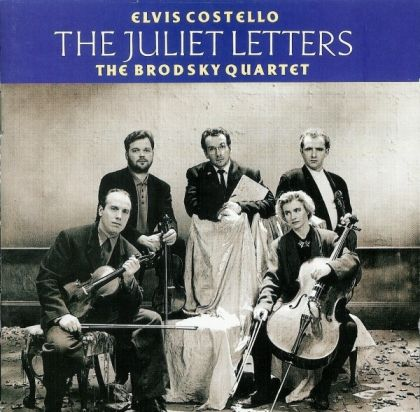 Elvis Costello And The Brodsky Quartet - The Juliet Letters cover