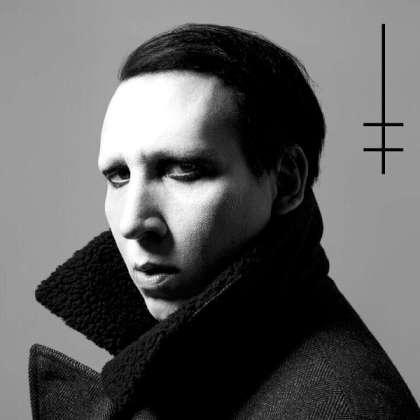 Marilyn Manson - Heaven Upside Down cover