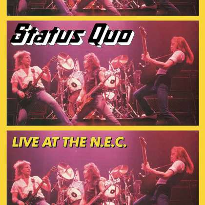 Status Quo - Live At The N.E.C. 2017 cover