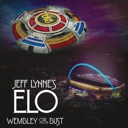 Jeff Lynne's ELO - Wembley Or Bust cover