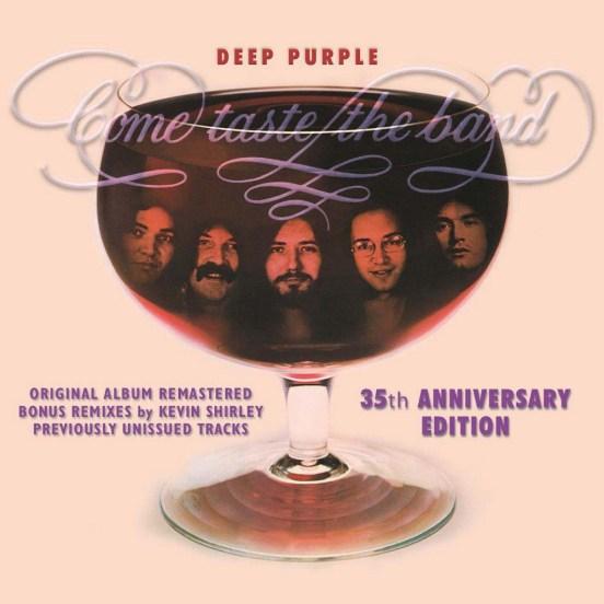 Deep Purple - Come Taste The Band 35th Anniversary Edition cover