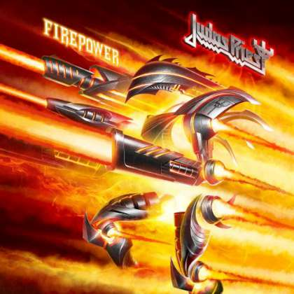 Judas Priest - Firepower cover