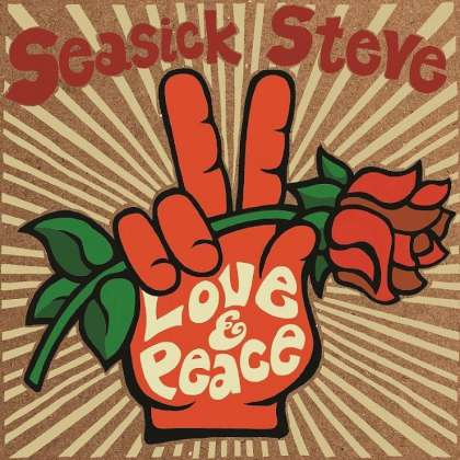 Seasick Steve - Love & Peace cover